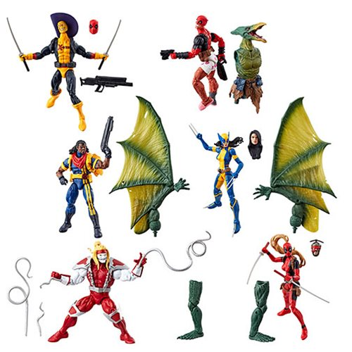 Deadpool Marvel Legends 6-Inch Action Figures Wave 2 Case – Free Shipping
