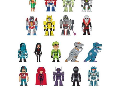 Transformers vs. G.I. Joe Mini-Figure Series Random 4-Pack