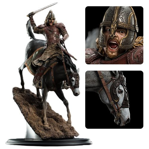 Lord of the Rings Eomer on Firefoot 1:6 Scale Statue – Free Shipping