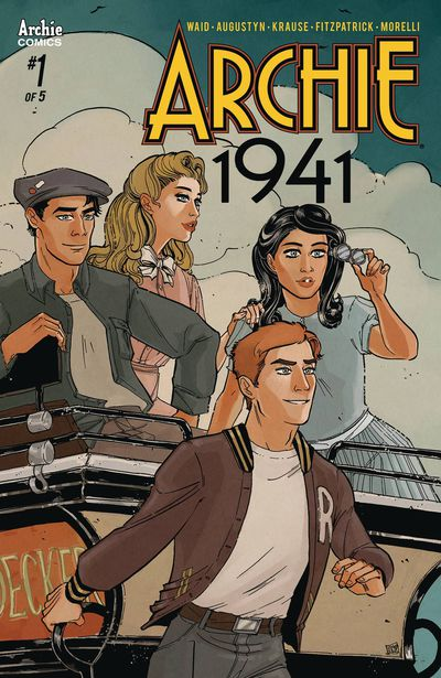 Archie 1941 #1 (of 5) (Cover B – Anwar)