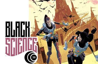 Black Science #38 (Cover A – Scalera & Dinisio)