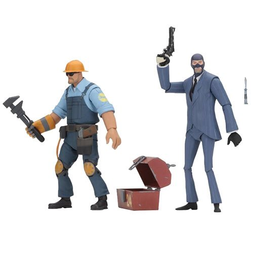 Team Fortress Series 3.5 BLU Assortment 7-Inch Figure Case – Free Shipping