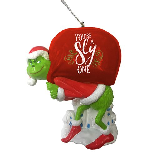 The Grinch with Sack Personalization Ornament