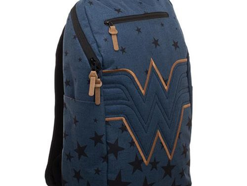 Wonder Woman Navy Backpack