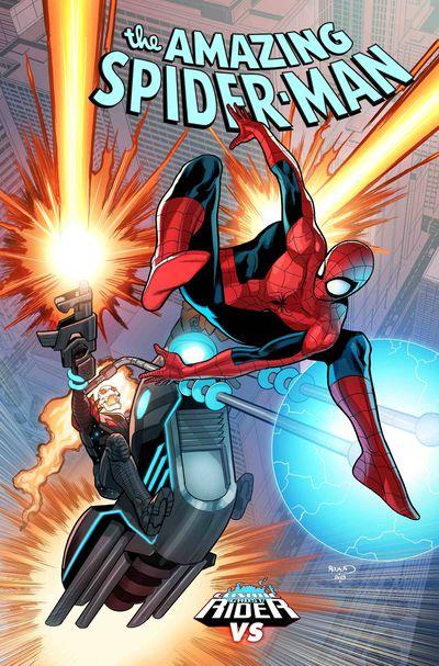 Amazing Spider-Man #6 (Renaud Cosmic Ghost Rider Variant)