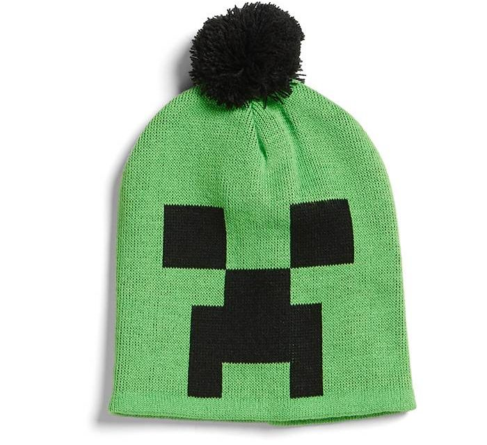Minecraft Creeper Pom Beanie