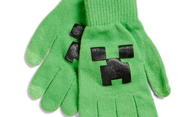 Minecraft Creeper Gloves