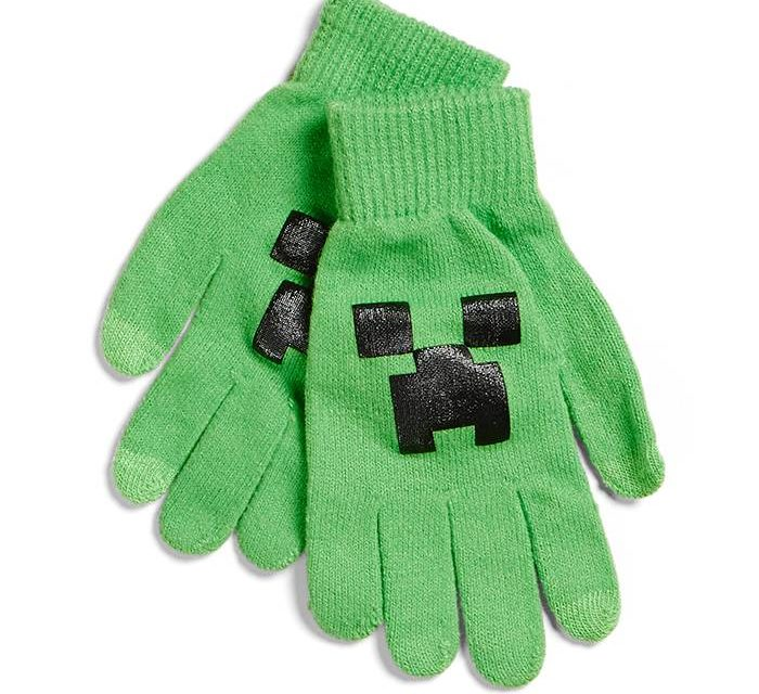 Minecraft Creeper Gloves
