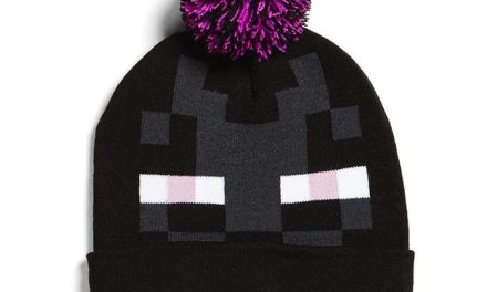 Minecraft Enderman Pom Beanie
