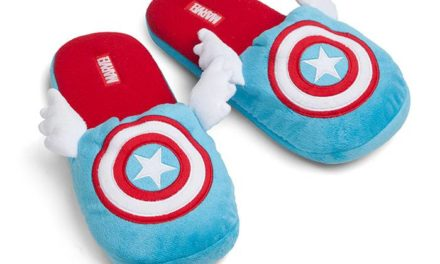 Captain America Winged Slippers
