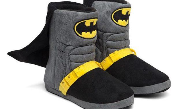 Batman Caped Uniform Slippers