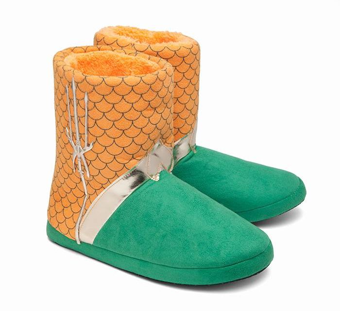 Aquaman Uniform Slippers