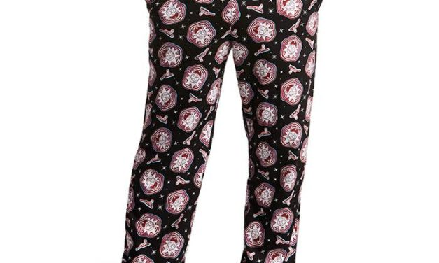 Rick and Morty Trippy Rick Lounge Pant