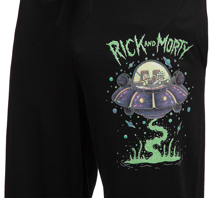 ick and Morty Glow-in-the-Dark Lounge Pant