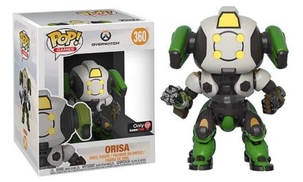Funko POP! Overwatch Orisa (OR15 Skin) Vinyl Figure