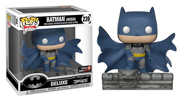 Funko POP! Batman (Hush) Deluxe Jim Lee Collection – Exclusive