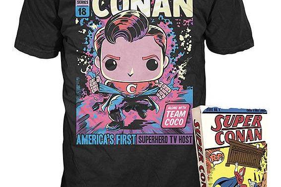 Conan Boxed Shirt – Pop Tees: Conans Cosmic Comic