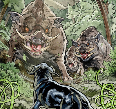 Beasts of Burden: Wise Dogs and Eldritch Men #3