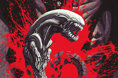 Aliens: Dust to Dust #3 (Carlos D'Anda Variant Cover)