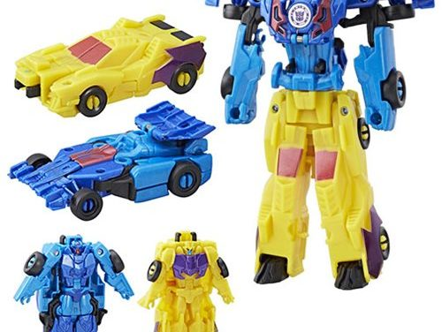 Transformers Robots in Disguise Combiner Force Crash Combiner Dragbreak