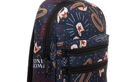 Wonder Woman Double Zip Backpack