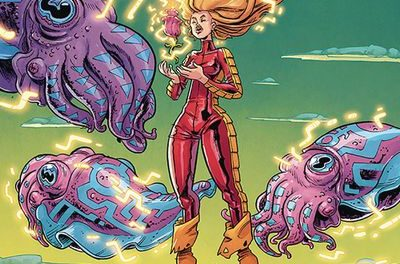 Barbarella #10 (Cover B – Conley)
