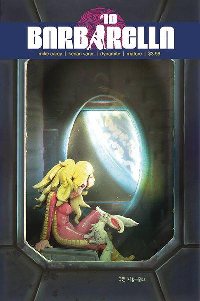 Barbarella #10 (Cover C – Diorama)