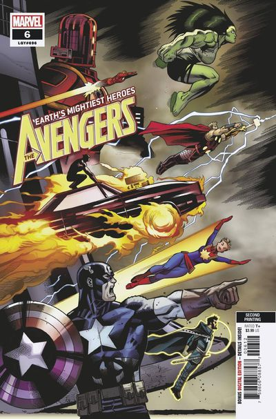 Avengers #6 (2nd Printing)
