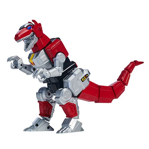 Power Rangers Legacy Deluxe Mighty Morphin Tyrannosaurus Rex Zord with Figure