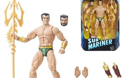 Black Panther Marvel Legends 6-Inch Namor the Sub-Mariner Action Figure