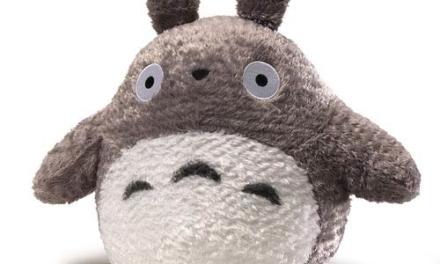My Neighbor Totoro Fluffy Big Gray Totoro 13-Inch Plush