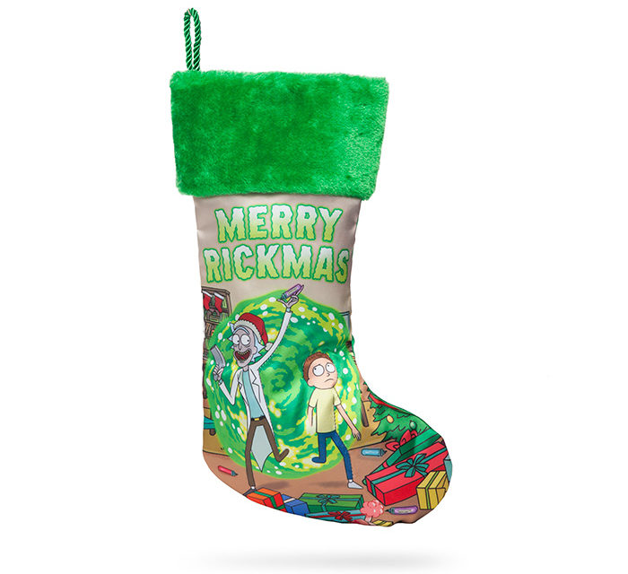Rick and Morty Stocking