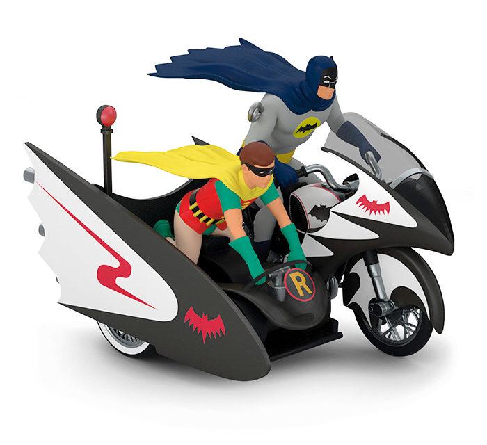 DC Comics Batman Batcycle Hallmark Keepsake Christmas Ornament