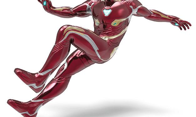 Marvel Iron Man with Light Hallmark Keepsake Christmas Ornament