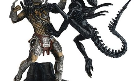 Alien and Predator AVP Requiem Special Statue with Collector Magazine #12