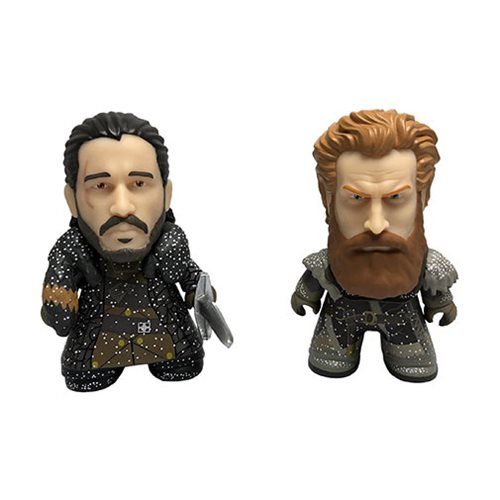Game of Thrones Jon Snow and Tormund Snowy 3-Inch Titan Vinyl Figure 2-Pack – 2018 Convention Exclusive – Free Shipping