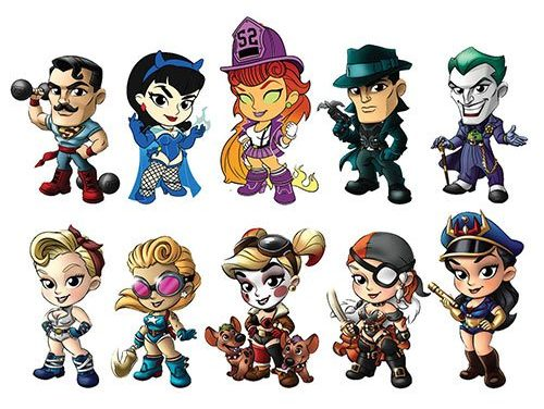 DC Lil Bombshells Series 3 Mini Vinyl Figure Display Case – Free Shipping