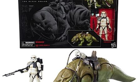 Star Wars The Black Series 6-Inch Dewback and Sandtrooper Action Figure – Free Shipping