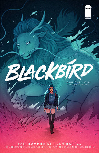 Blackbird #1 2nd Printing