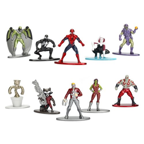 Marvel Nano Metalfigs Die-Cast Mini-Figures 5-Pack Set – Free Shipping