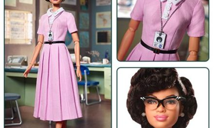 Barbie Katherine Johnson Inspiring Women Series Doll – Free Shipping