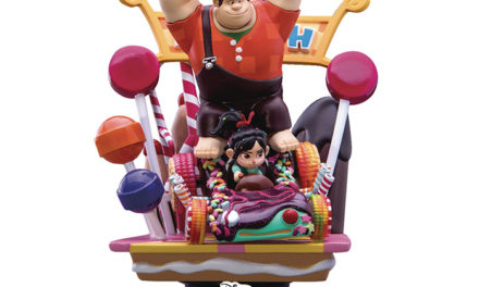 Disney D-Select Wreck-It Ralph Diorama Statue