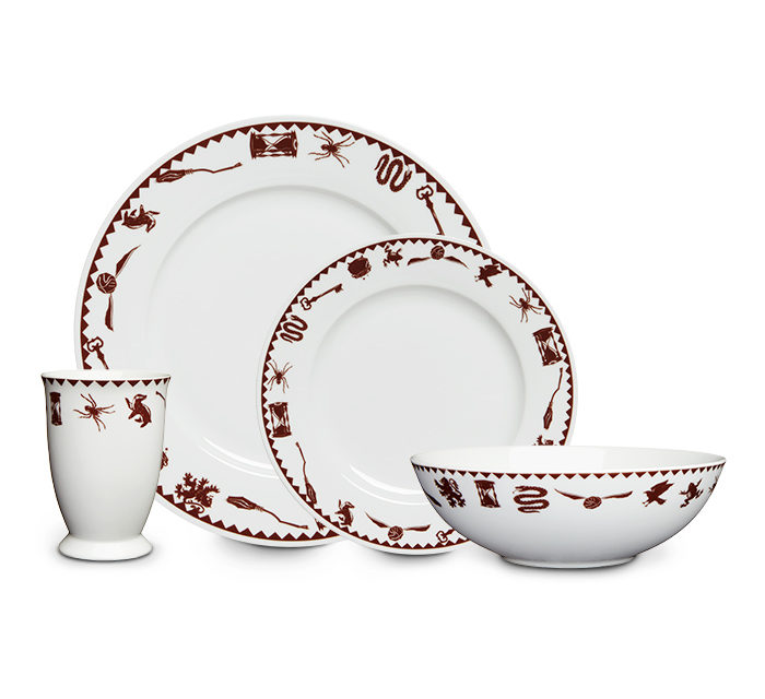 Harry Potter Grim Dinner Set