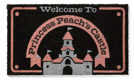 Super Mario Princess Peach Castle Mat