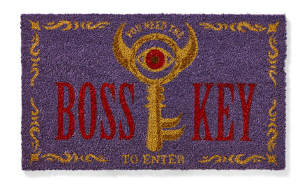 Zelda Boss Key Doormat