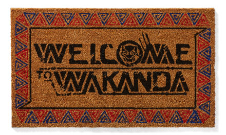 Marvel Welcome to Wakanda Doormat