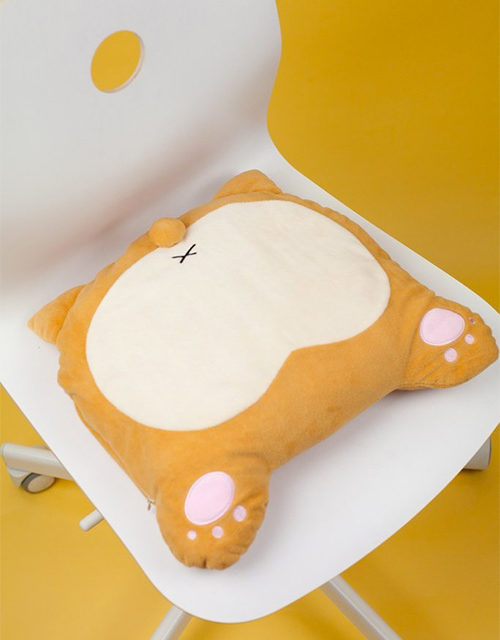 Corgi Butt USB Heated Pillow