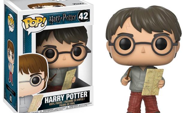 Funko POP! Harry Potter Harry w/ Marauders Map Vinyl Figure
