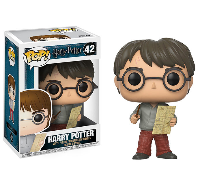 Funko POP! Harry Potter Harry w/ Marauders Map Vinyl Figure