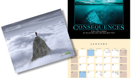 2019 ThinkGeek Despair Wall Calendar – Exclusive